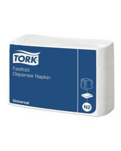 Servett TORK Uni N2 1-lag 30x25cm 300/FP
