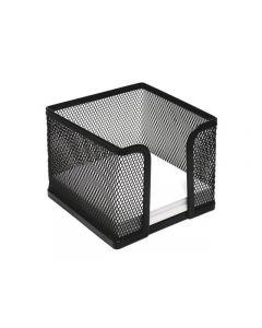 Blockask i nät 95x95mm svart