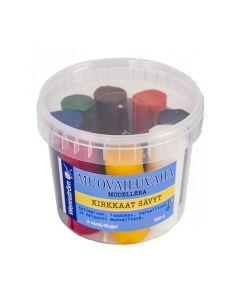 Modellera bivax 8 färger 500g