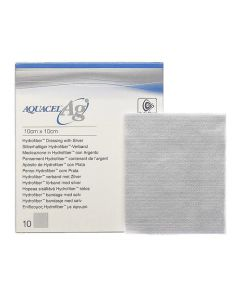Aquacel Ag silverförband 10x10cm 10/FP