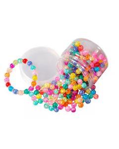 Glaspärlor krackelerat 170g