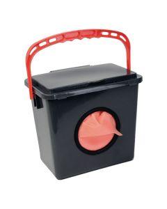 Dispenser JustOnce Städduk röd
