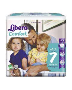 Blöja LIBERO Comfort S7 16-26kg 40/FP