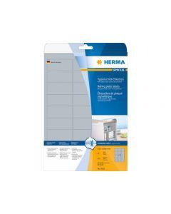 Etikett HERMA Silver 63,5x29,6mm 675/FP