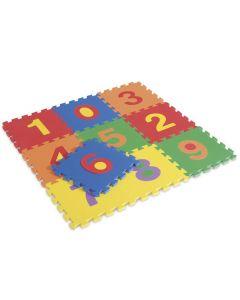 Siffror golvmatta 10 delar