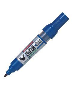 Märkpenna PILOT V Super Color rund blå