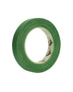 Tejp textil matt 50mx19mm grön