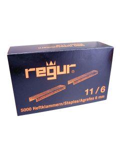 Häftklammer REGUR 6mm 11/6 5000/FP