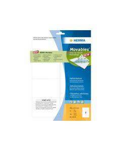Etikett HERMA Movable 99,1x67,7mm 200/FP