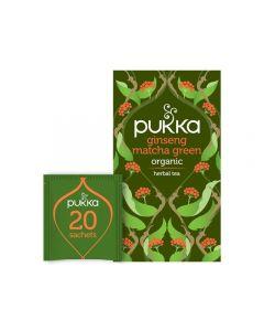 Te PUKKA Ginseng Matcha Green 20/FP
