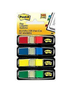 Index POST-IT Pilar 684 ljusa färger 4x24/FP