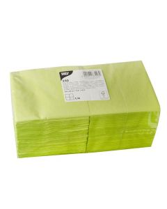 Servett 3-lags 24x24cm kiwi 250/FP