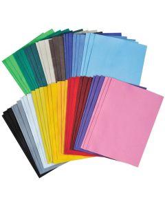 Filtbitar tjocka 3x18 färger