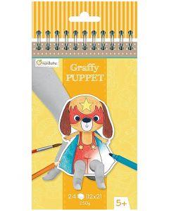 Handdockor Graffy Puppet Djurmotiv 24/FP