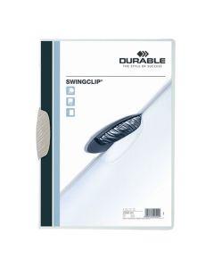 Klämmapp DURABLE Swingclip 2260 A4 vit