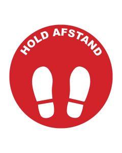 Golvmarkering 'HOLD AFSTAND' 10/FP