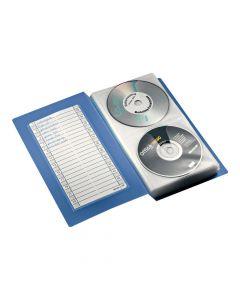 CD/DVD Förvaringsbok för 48 skivor