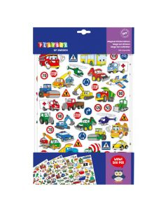 Stickers bilar  500st