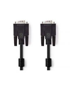 Kabel NEDIS VGA Ha - VGA Ha 2m