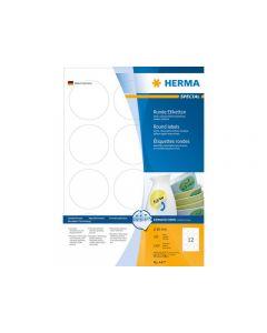 Etikett HERMA Movable rund Ø60mm 1200/FP
