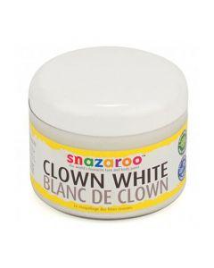 Ansiktsmålning 250ml clownvit