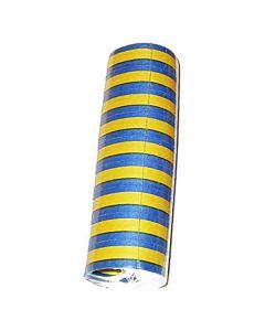Serpentiner gula och blå 10/fp