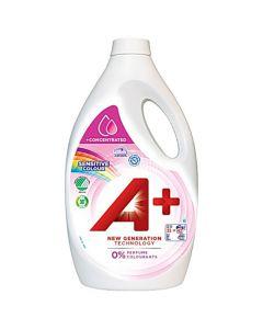 Tvättmedel A+ Sens. Colour 2,2 liter
