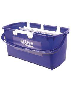 Fönsterputshink ACTIVA 18 liter komplett