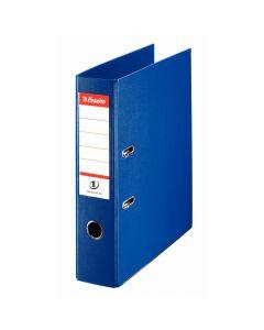 Pärm ESSELTE EU-hålning PP A4 75mm blå