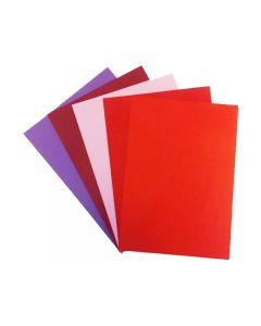 Dekorationskartong 50ark/FP Färgpaket 1