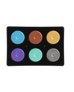 Färgblock metallic 44mm 6 färger