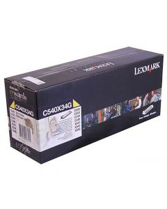 Developer LEXMARK C540X34G gul