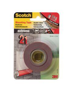Monteringstejp SCOTCH super 1,5mx19mm