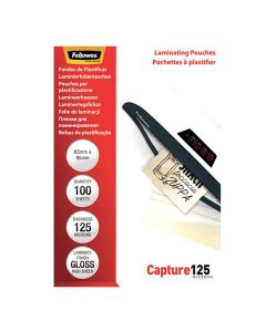 Laminat FELLOWES 64x95mm 125 mic 100/FP