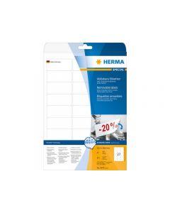 Etikett HERMA Movable 63,5x29,6mm 675/FP