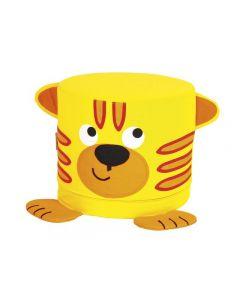 Sittpuff tiger