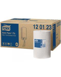 Torkrulle TORK Uni M1 1-lag vit 120m
