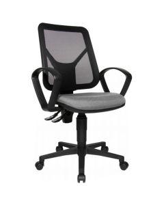 Kontorsstol TOPSTAR Airgo Net svart/grå