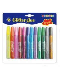 Glitterlim 12 färger