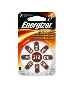 Batteri ENERGIZER hörsel 312 brun 8/FP