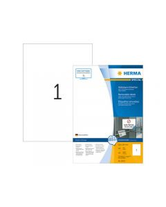 Etikett HERMA Movable 210x297mm 100/FP