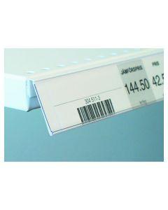 List vinklad 39x885mm transparent 25/FP