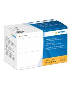 Etikett HERMA Frankering 163x45mm 1000/FP