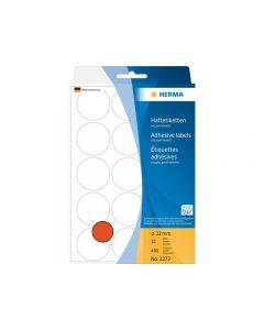 Etikett HERMA Allround 32mm röd 480/FP