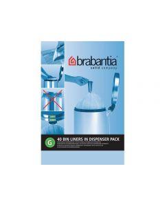 Avfallspåsar G, dispenser 23/30 liter 40/FP