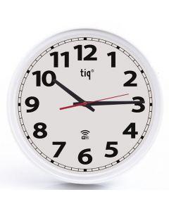 Väggur TIQ WIFI 35mm vit