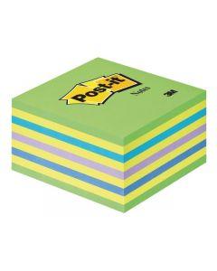 Notes kub POST-IT 2028NP 76x76 inten.grö