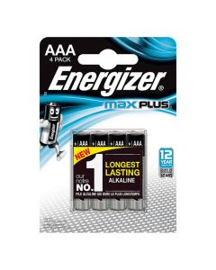 Batteri ENERGIZER Max Plus AAA 4/FP