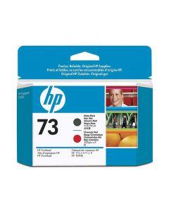 Skrivhuvud HP CD949A 73 Mattsvart/K-röd