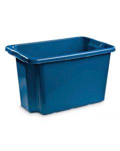 Förvaringsbox 55 liter blå